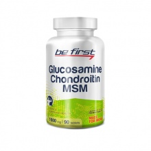 Хондропротектор Be First Glucosamine & Chondroitin & MSM 90 табл.